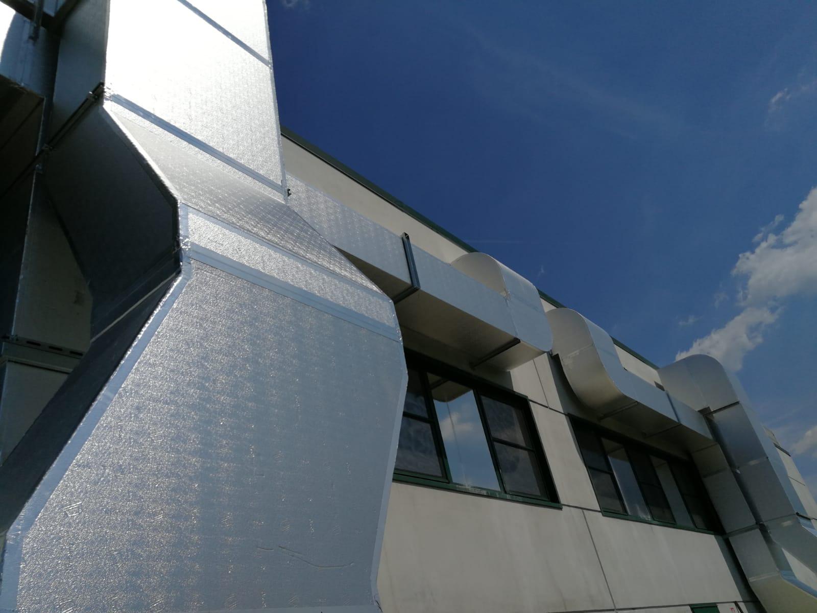 Impianto ventilazione condizionata Eurobrico Brescia 8