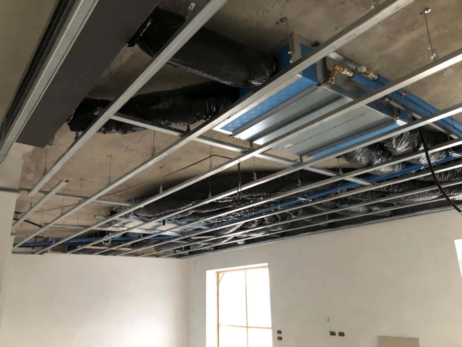 Impianto di trattamento aria abitazione con distribuzione tramite tubazione flessibile isolata 3